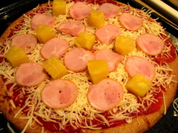 Pineapple And Ham Make A Fantastic Pizza Topping!